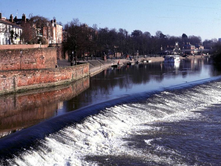 The weir at Chester