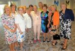 Members of Dursley Inner Wheel with Association President, Zena Coles